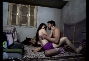 Desi indian duo homemade lovemaking..